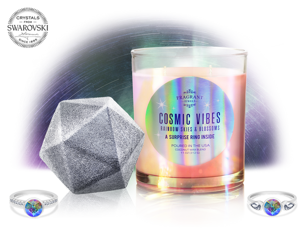 Cosmic Vibes - Candle and Bath Bomb Set - Inner Circle