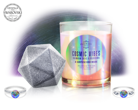 Cosmic Vibes - Candle and Bath Bomb Set