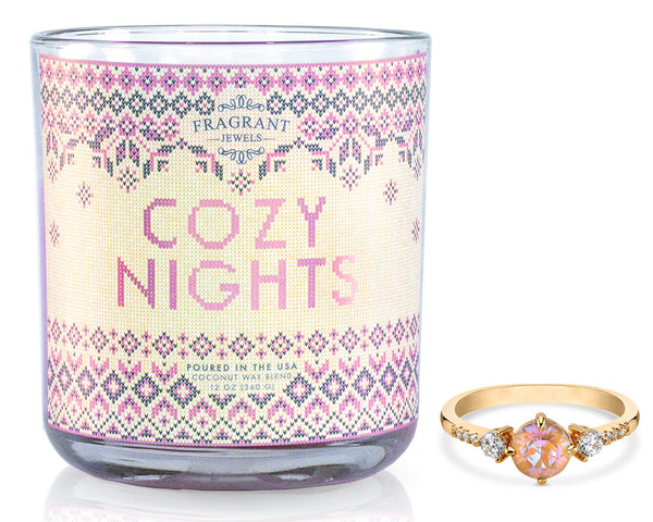 Cozy Nights Ring Candle