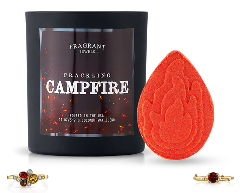 Crackling Campfire - Candle and Bath Bomb Set - Inner Circle
