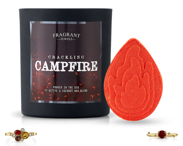 Crackling Campfire - Candle and Bath Bomb Set