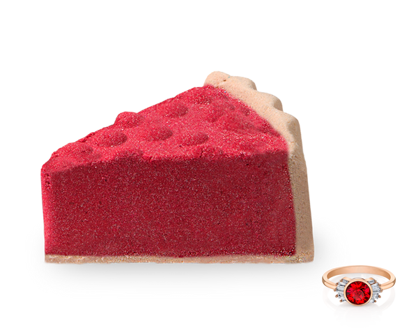 Cranberry Tart - Bath Bomb