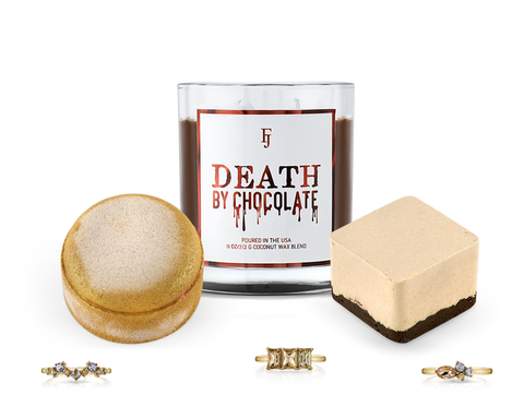 Death By Chocolate - Bath Bomb, Candle & Bubble Bar Trio - Inner Circle