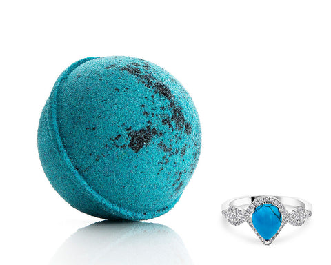 Turquoise: December Birthstone - Bath Bomb