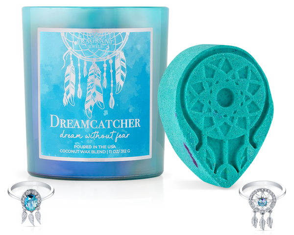 Dreamcatcher - Candle and Bath Bomb Set - Inner Circle
