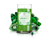 May Birthstone: Emerald Jewel Candle