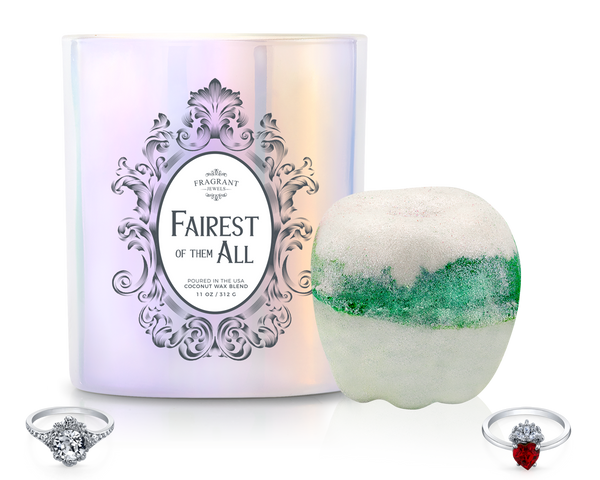 Fairest of Them All - Candle and Bath Bomb Set