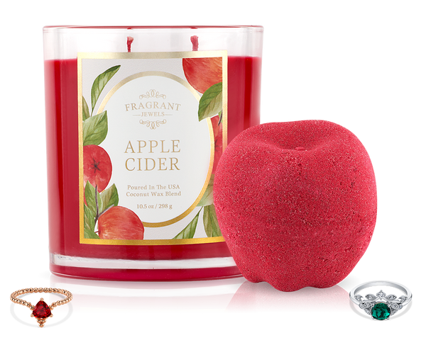 Apple Cider - Fall 2019 Collection - Candle and Bath Bomb Set
