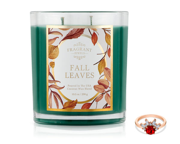 Fall Leaves - Fall 2019 Collection - Jewel Candle