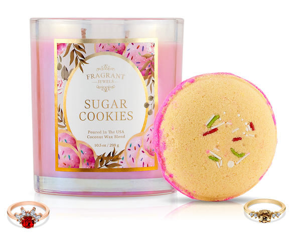 Sugar Cookies - Fall 2019 Collection - Candle and Bath Bomb Set