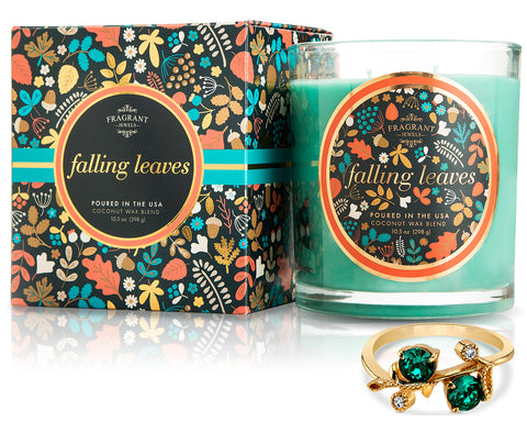 Falling Leaves - Fall Collection 2018 - Jewel Candle