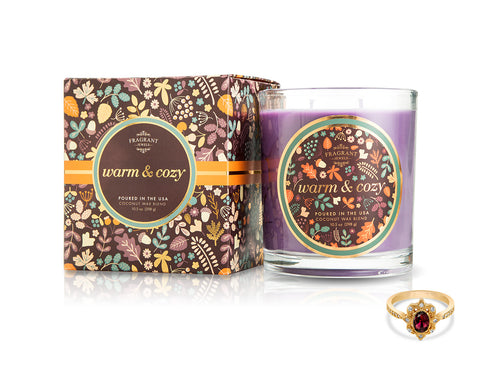 Warm and Cozy - Fall Collection 2018 - Jewel Candle