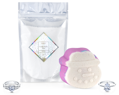 Fresh Fallen Snow - Bath Bomb and Pixie Dust Duo - Inner Circle