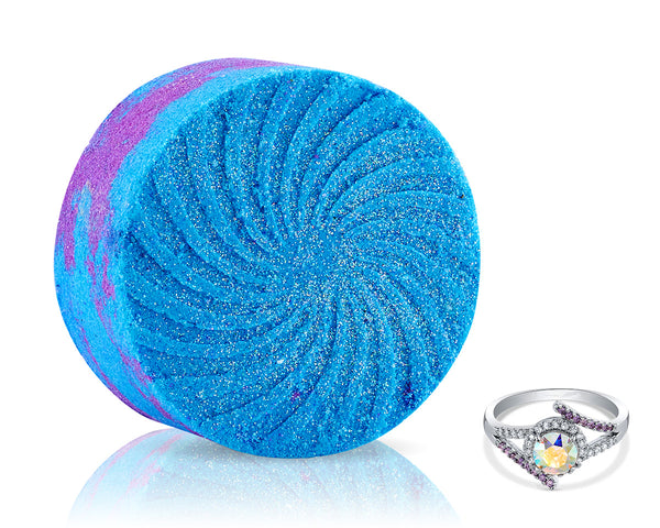 Cosmos Galaxy Bath Bomb with Ring