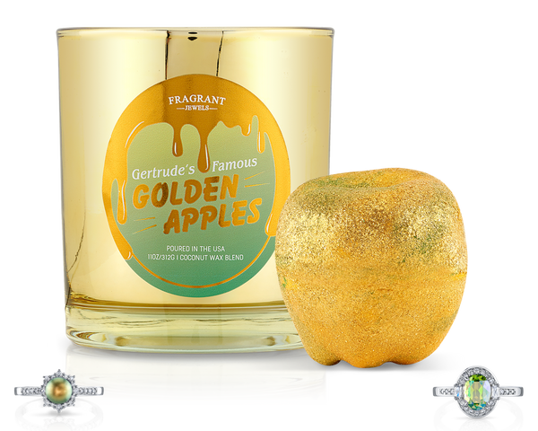 Gertrude's Famous Golden Apples - Candle and Bath Bomb Set