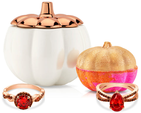Hello Pumpkin - Candle and Bath Bomb Set