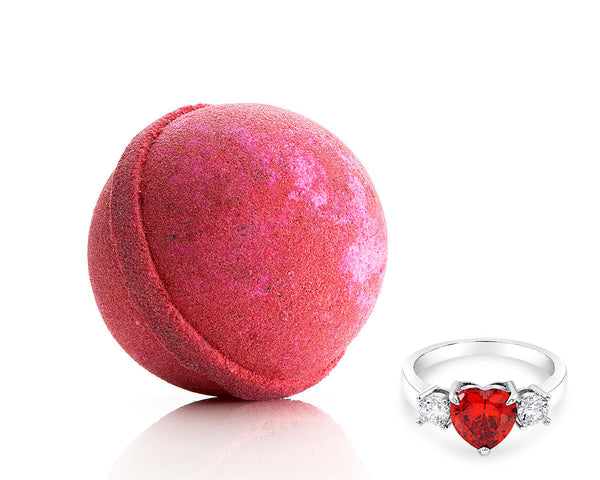 Ruby Red Ring Bath Bomb