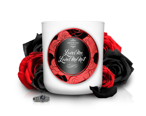 Loves Me, Loves Me Not - Jewel Candle