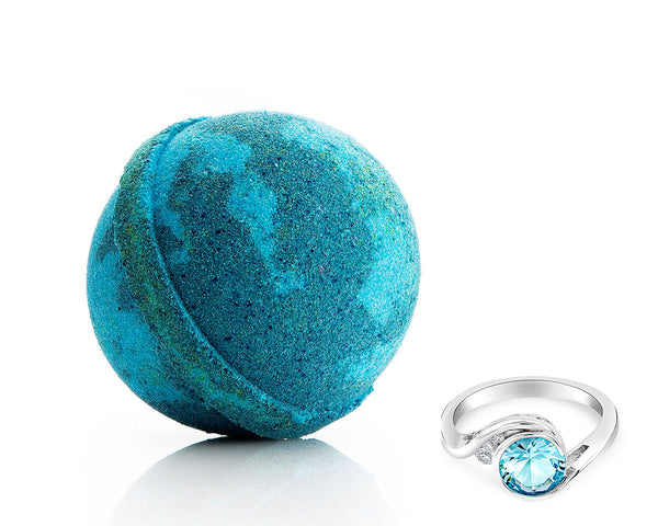Aquamarine Ring Bath Bomb
