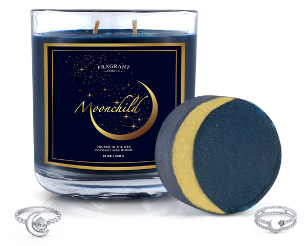 Moonchild - Candle and Bath Bomb Set