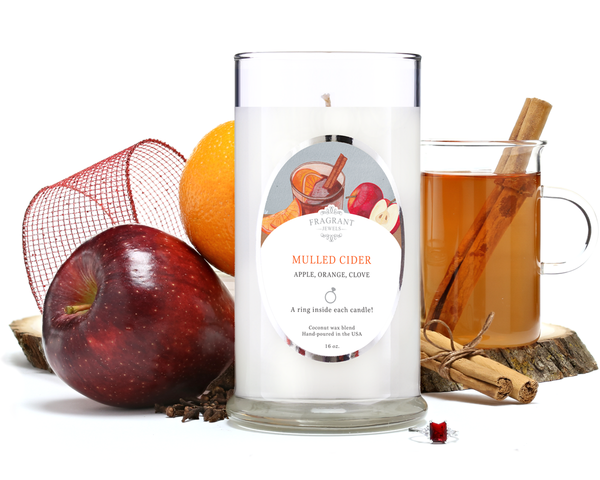 Mulled Cider - Jewel Candle With a Ring and a Chance to Win a $10k Ring