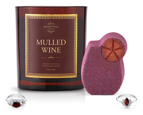 Mulled Wine - Candle and Bath Bomb Set - Inner Circle