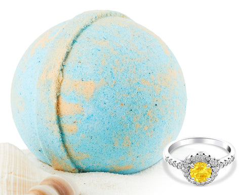 Ocean Mist and Sea Salt - Jewel Bath Bomb