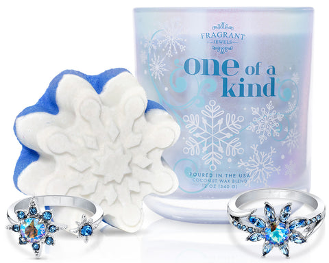 One of a Kind - Candle and Bath Bomb Set