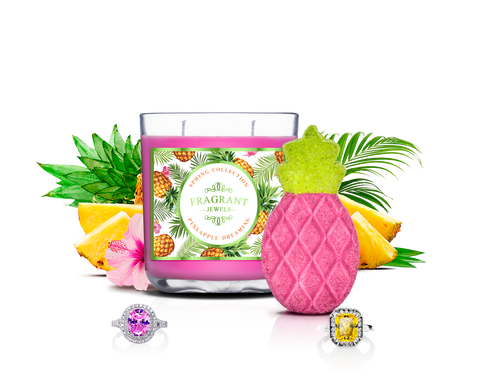 Pineapple Dreaming - Candle & Bath Bomb Gift Set - Inner Circle