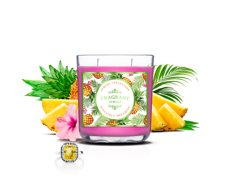 Pineapple Dreaming - Jewel Candle