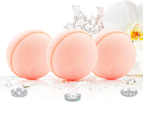 Queen of Diamonds - Bath Bomb Trio