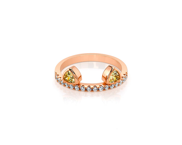 Kitty Ears Rose Gold Ring