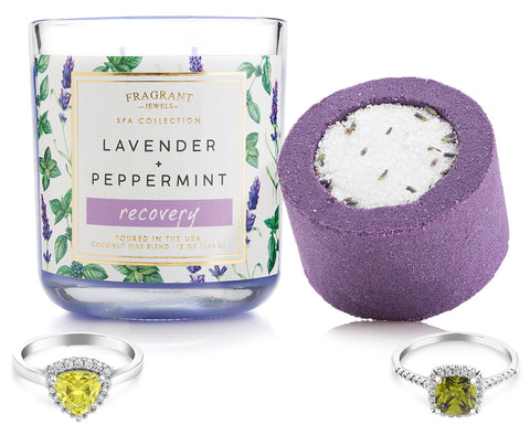 Recovery - Candle and Bath Bomb Set