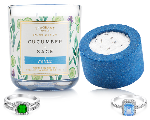 Relax - Candle and Bath Bomb Set - Inner Circle