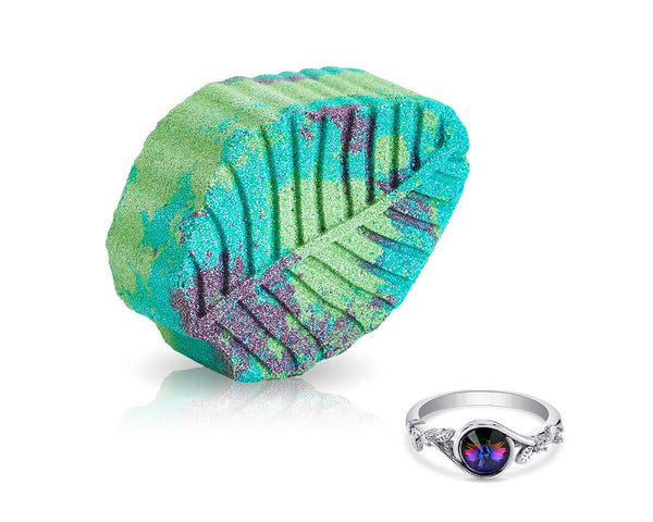 Garden Bath Bomb with Swarovski Ring