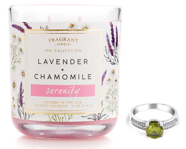 Serenity - Jewel Candle