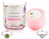 Serenity - Candle and Bath Bomb Set - Inner Circle