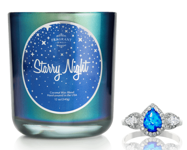 Starry Night Ring Candle