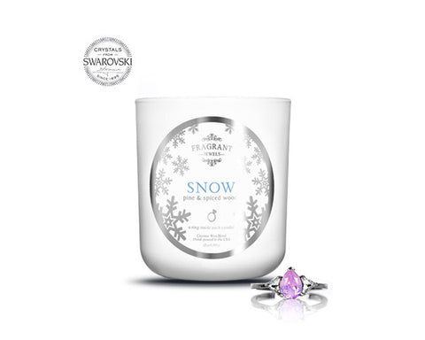 Snow - Jewel Candle