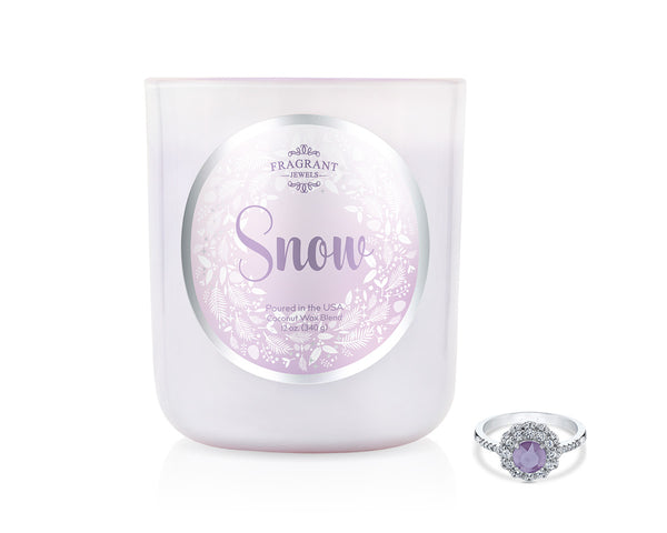 Snow 2018 - Jewel Candle