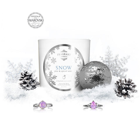 Snow - Candle & Bath Bomb Gift Set