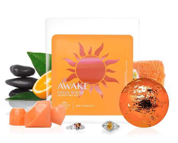 Awake - Bath Bomb & Wax Tarts Gift Set