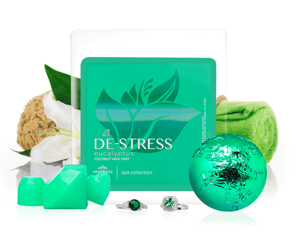De-Stress - Bath Bomb & Wax Tarts Gift Set