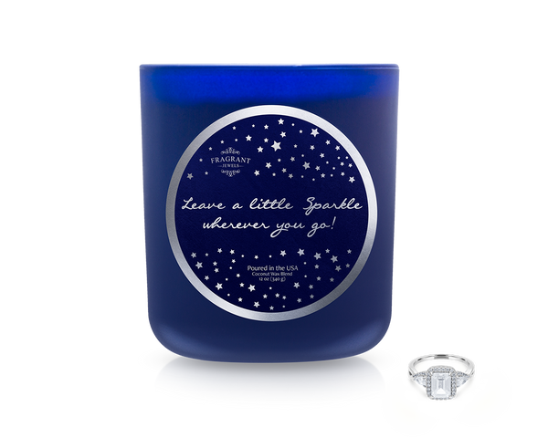 Leave a Little Sparkle - Jewel Candle