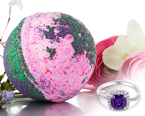 English Garden   Jewel Bath Bomb