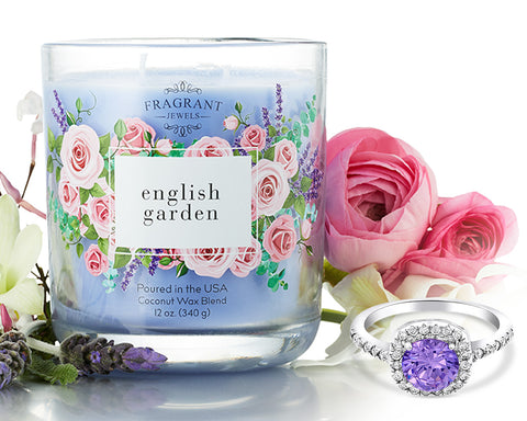 English Garden - Jewel Candle