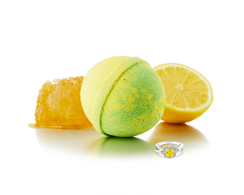 Honey Lemon - Jewel Bath Bomb