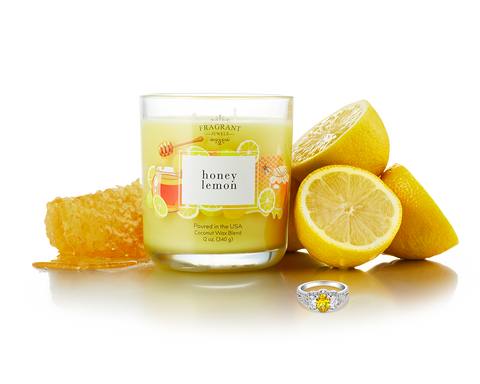 Honey Lemon - Jewel Candle