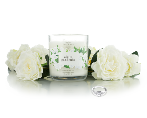 White Gardenia - Jewel Candle