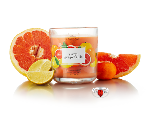 Yuzu Grapefruit - Jewel Candle